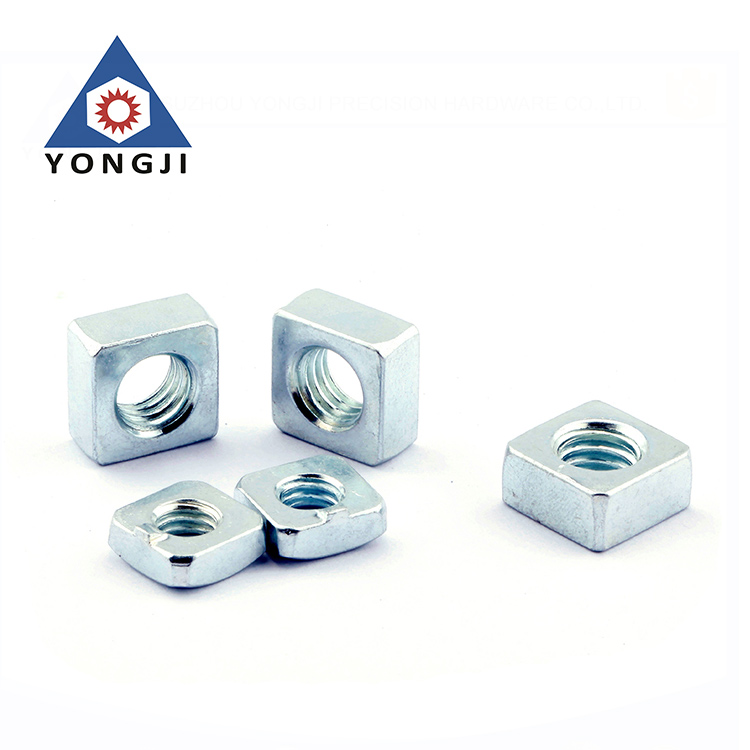 Customized High Stength Carbon Steel Square Nuts