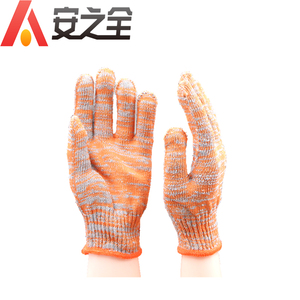 Colourful Poly Cotton String Knit Economy Work Sefety Gloves