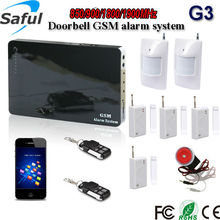 Luxury security alarm system for home alarm