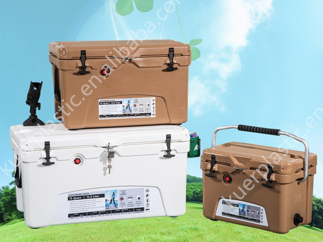 roto molded cooler. plastic rotomolded fishing cooler box from kuer coolers manufacturer china roto molded
