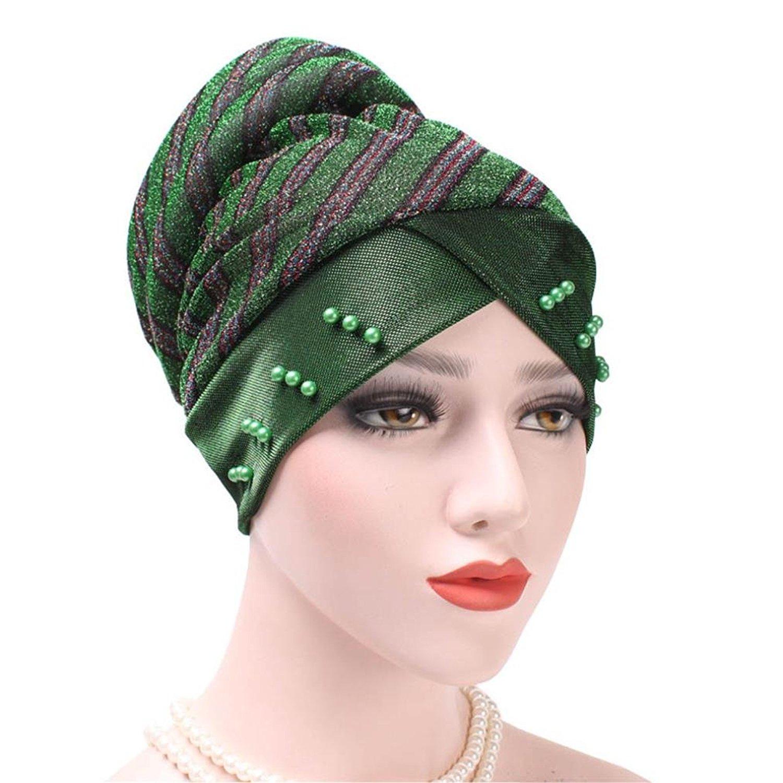 7c47ec2650f QingFan Scarf Chemo Hat Turban Head Scarves Pre-Tied Headwear Bandana for  Cancer