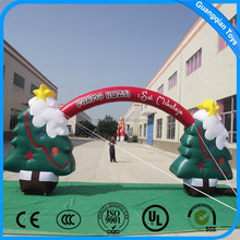 Guangqian Outdoor Promotion Christmas Festival Inflatable Arch Shape,Can OEM And ODM