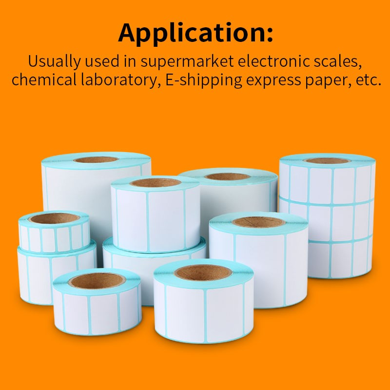 Removable Sticker Paper (100 Sheets), Blank White Matte Full Sheet Label -  Inkjet