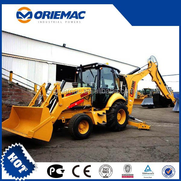 small backhoe loader CHENGGONG 866HTC chinese backhoe loader