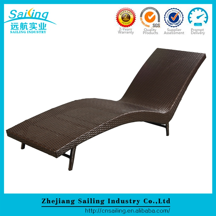 Aluminum Rustproof Frame Worthful Hotel Project Outdoor Swimming Pool Chair