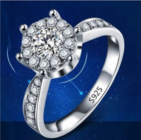 wholesale fashion 925 sterling silver jewelry ring