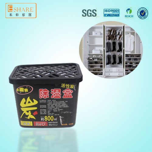 Activated Carbon Odor Removal Humidity Absorber Shoe Box