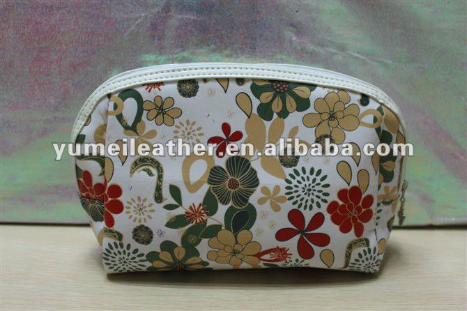 2012 flower printing designer high quality golf tee pouch