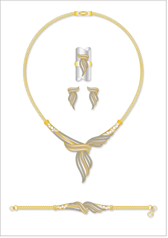 Arabic Wedding Gold Jewellery Designs Necklace Set - Buy Arabic ...