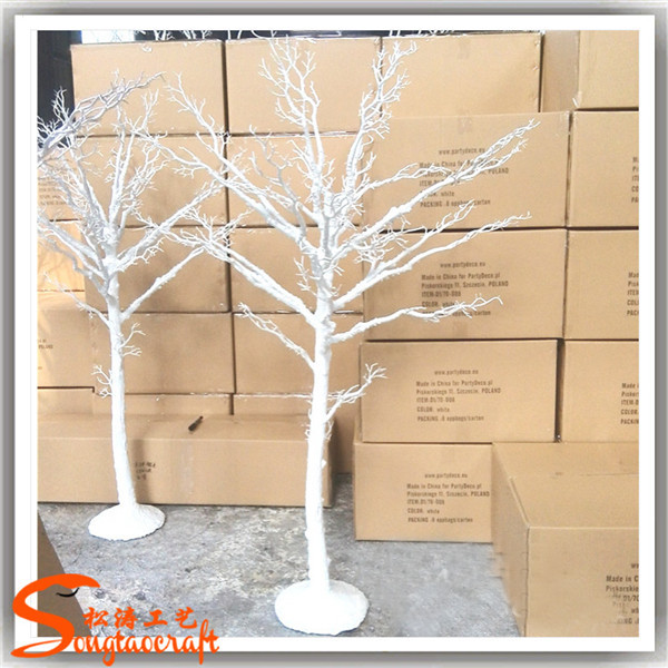 New Products 2015 China Supplier Artificial Decorative White Dry ...
