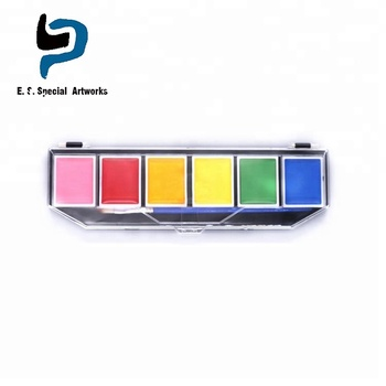 12 Color Animal Face Paint Painting Makeup Set By Custom Body Art Buy Face Paint Neon Face Paint Body Paint Product On Alibaba Com