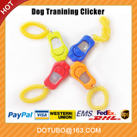 2016 New-Paws designer colorful Aid wrist strap pet dog training clicker/ Whistle Dog Training clicker