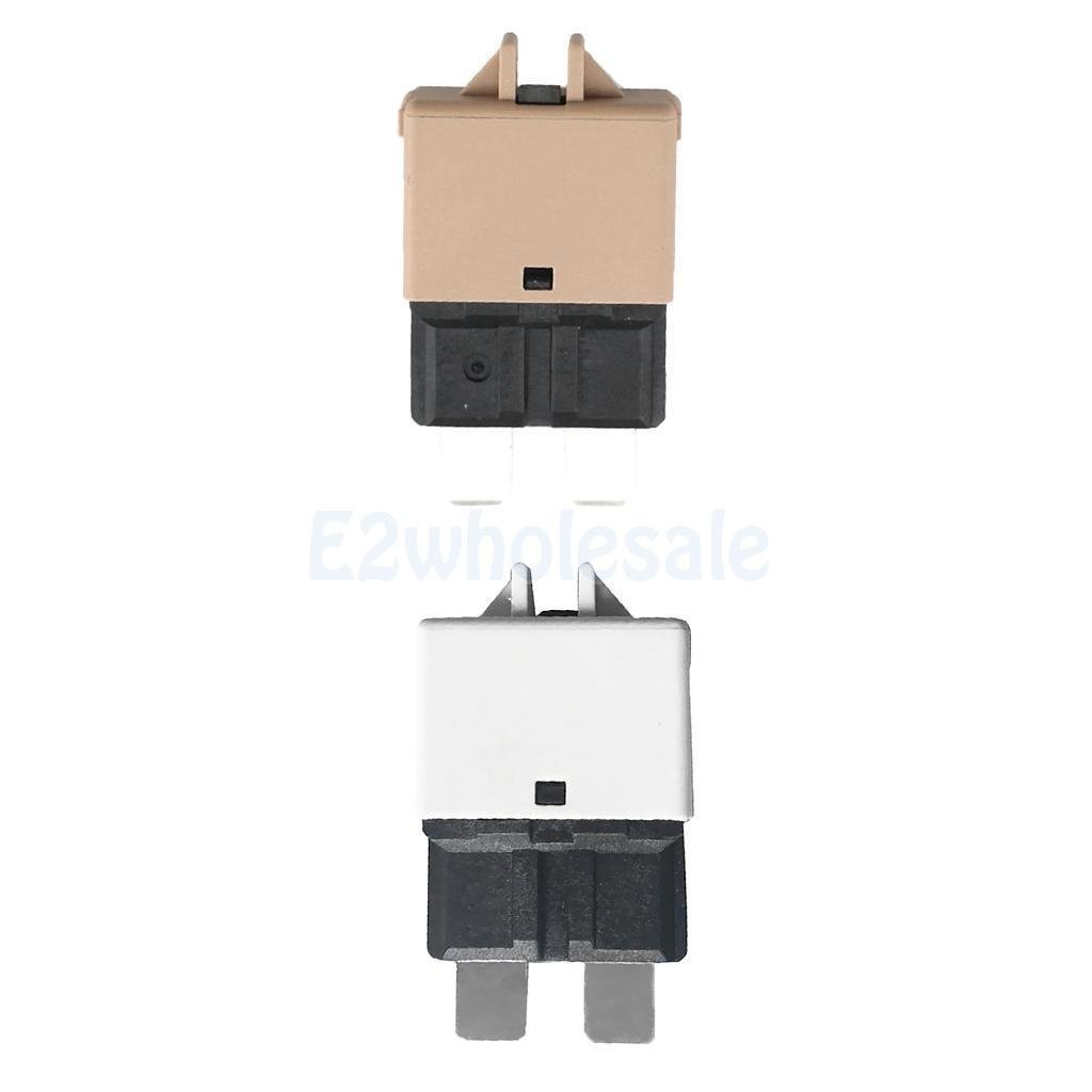 2pcs Automatic Resettable Fuse Marine Circuit Breaker Blade 5A 25A 12V