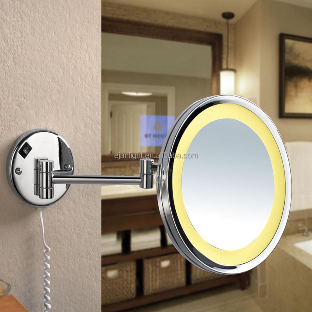 Groothandel kwaliteit mode wandmontage 120 v badkamer verlichte make upspiegel led make up - Mode badkamer ...