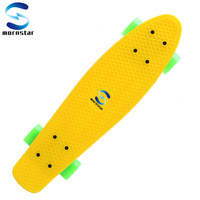 Retro Style Plastic Board Perfect For Either Stunt Or Simple Cruising