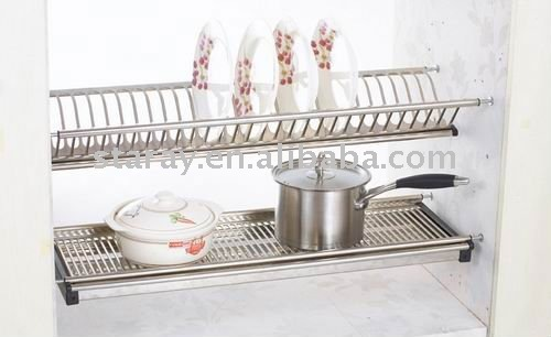 Hcj731 Kitchen Cabinet Stainless Steel Plate Rack - Buy Kitchen Cabinet Plate RackKitchen Cabinet Plate RackDouble Dish Rack Product on Alibaba.com & Hcj731 Kitchen Cabinet Stainless Steel Plate Rack - Buy Kitchen ...