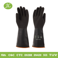 Construction site use latex working glove good quality