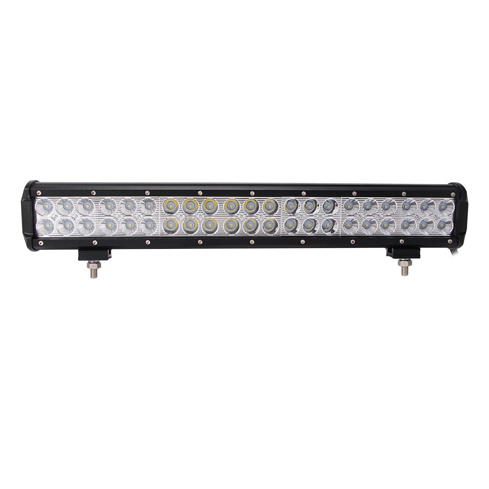 """LED Light Bar, Northpole Light 20"""" 126W Waterproof CREE Spot Flood Combo LED Light Bar LED Off Road Lights Driving Fog Light with Mounting Bracket for Off Road, Truck, Car, ATV, SUV, Jeep"""