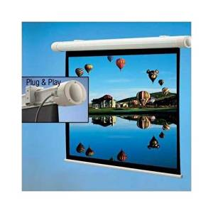 "DRAPER Salara Plug & Play Electric Screen / 60"" x 80"" - Fiberglass Matt White - 100"" Diagonal / 136008 /"