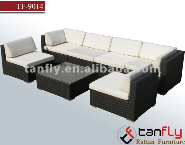 TF-9014 Patio modular rattan furniture/garden furniture