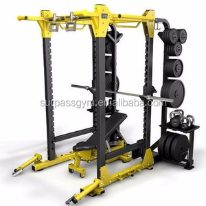 Gym Equipment Weight Lifting/Hammer Strength HD TZ-6073 Power Rack