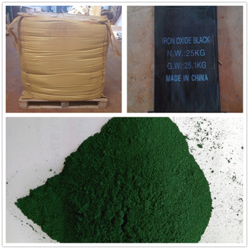 Green Concrete Dye And Stain Pigment Synthetic Iron Oxide