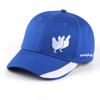 hot sale sample free embroidery animal logo baseball cap/hat Promotional