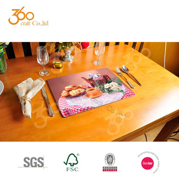 Best Placemats For Round Table Blank Backing Placemat