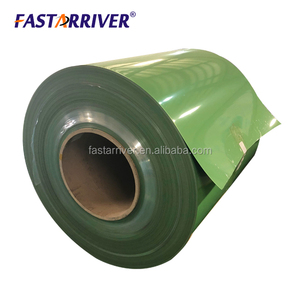 Color pe painted aluminum and pdvf coated aluminum coil made in china