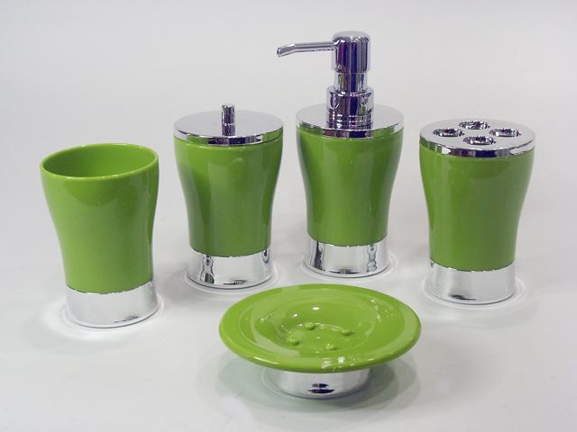 Classique design clair acrylique vase forme bleu salle de Accessoires salle de bains design