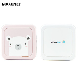 New Bluetooth 4.2 Portable Printer MEMOBIRD G3 Phone Photo printer Pocket Mini Sticker Thermal printer