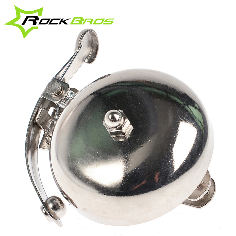 ROCKBROS Vintage Retro Outdoor Sports Mountain Bike Bicycle Accessories Cycling Alarm Handlebar Copper Ring Bell Horn, 2 Colors
