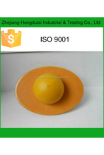 HDL-7552 yellow oval shape antiburst bouncer ball