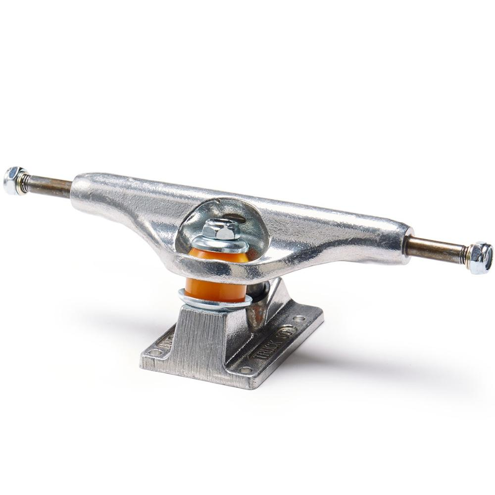 "356 Aluminum Hangers 4140 Chromoly Steel Axles, New 5.5"" Flounder Colorfully Skateboard Trucks 32mm"