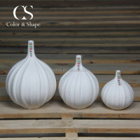 Chaozhou manufacturer oriental antique onion shape ceramic vase for flower