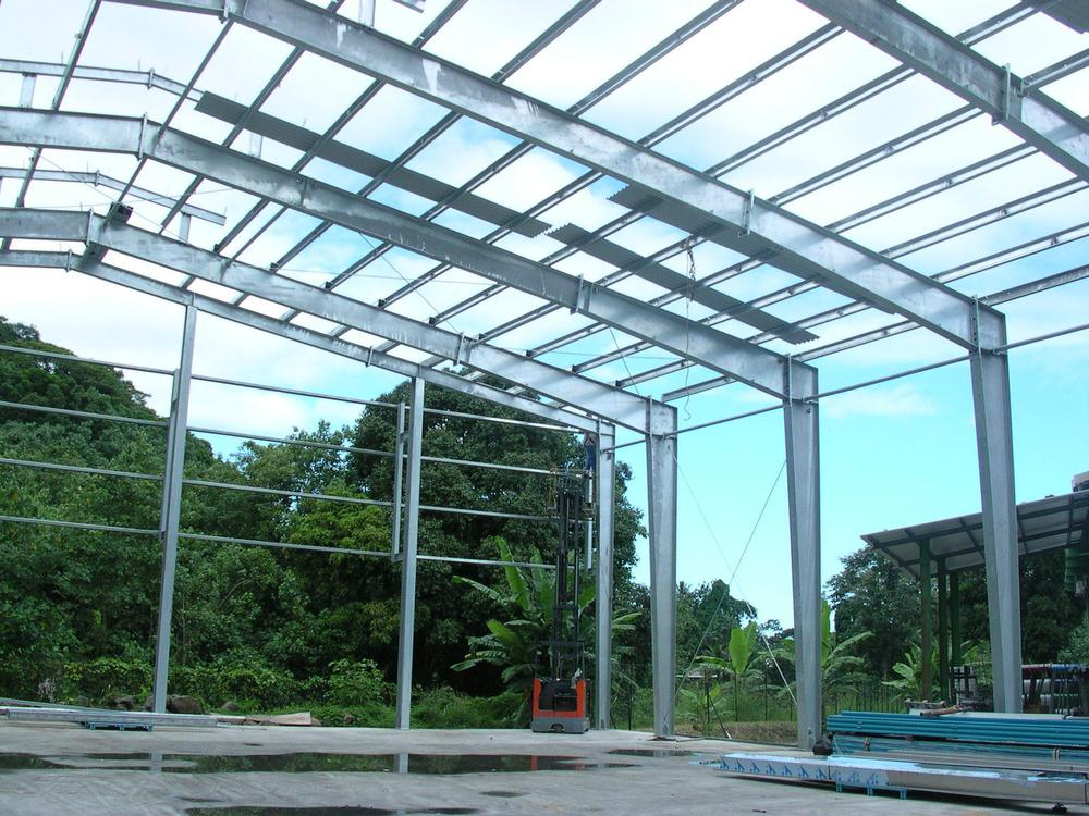 metal framing shed. Light Gauge Steel Framing Prefabricated House / Factory Shed Structure Drawing Metal