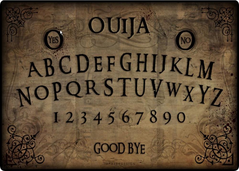 Ouija Brett Online Spielen