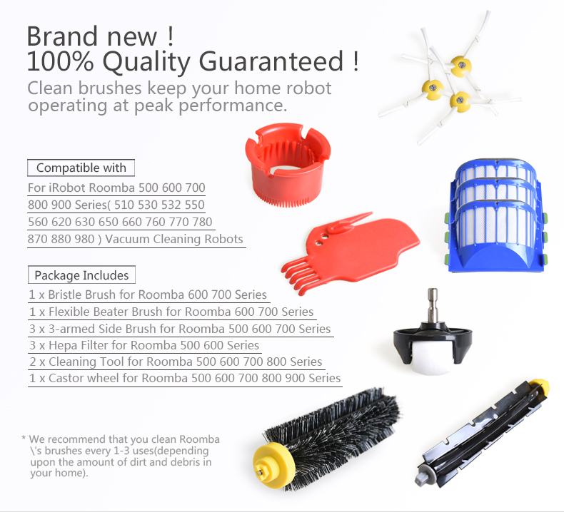 Wholesale Vacuum Cleaner Parts For Irobots,Room Ba 500 600 700 800 900  Series And Vacuum Cleaning Robots - Buy Vacuum Cleaner Parts,Vacuum Cleaner