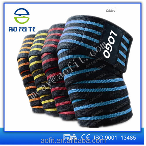 High Quality 1.8 Meter 71 Inch Weight Lifting Knee Wraps