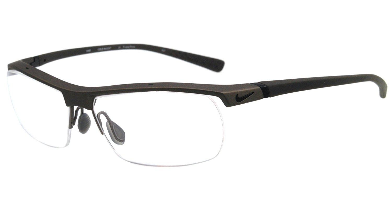 2634ca4b5b Buy NIKE 7071 2 Eyeglasses 080 Matte Platinum Slate Blue 57-14-135 ...