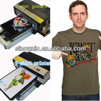 Direct to garment printer t shirt embroidery machine t for Direct print t shirt printer