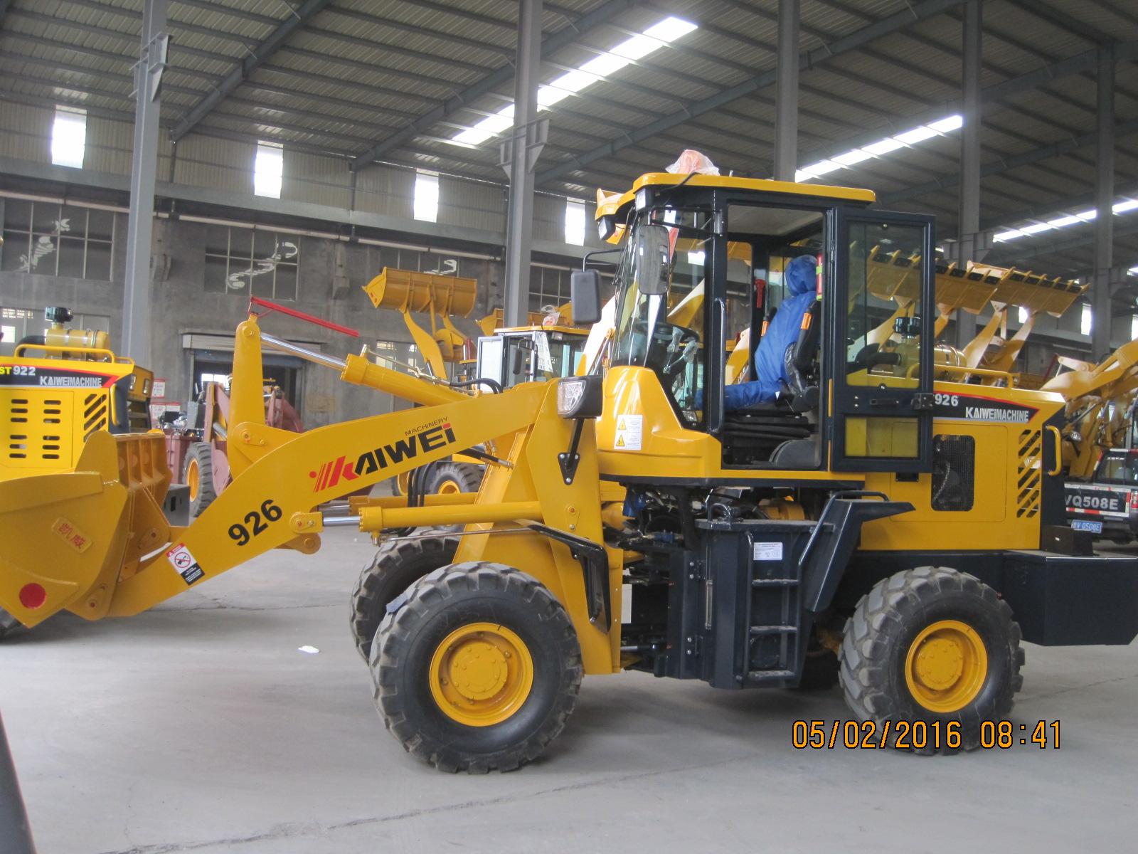 926 heavy construction อุปกรณ์ขนาดเล็กล้อลากสำหรับขาย