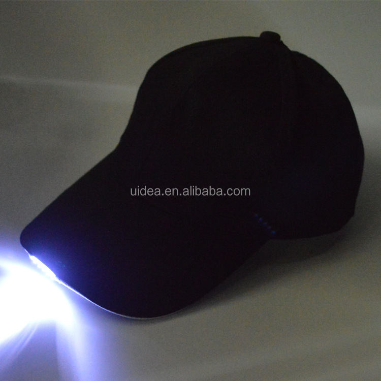 LED Baseball <strong>Cap</strong>/Hands Free LED Baseball <strong>Cap</strong> with Bright white/ LED light Sport Hat