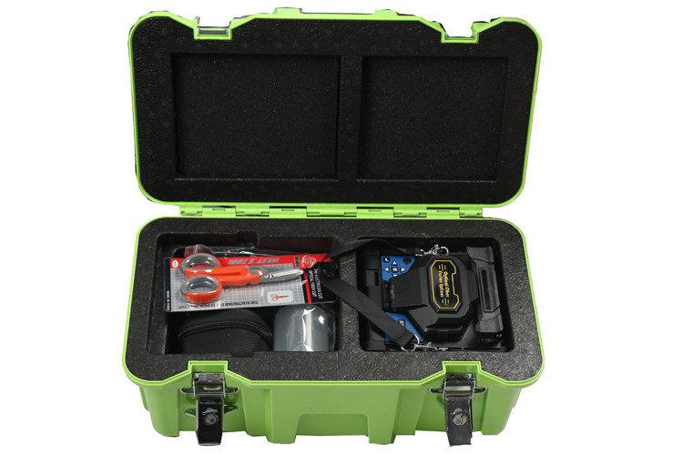 Small Size Fiber Optic Fusion Splicer Machine with Dual Heating Groove Optional