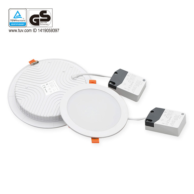 Hot sell unique design color changeable ultra thin back light LED recessed down light