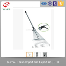 Plastic Coated 15Tines A3 Steel Garden Telescopic Hay Rake