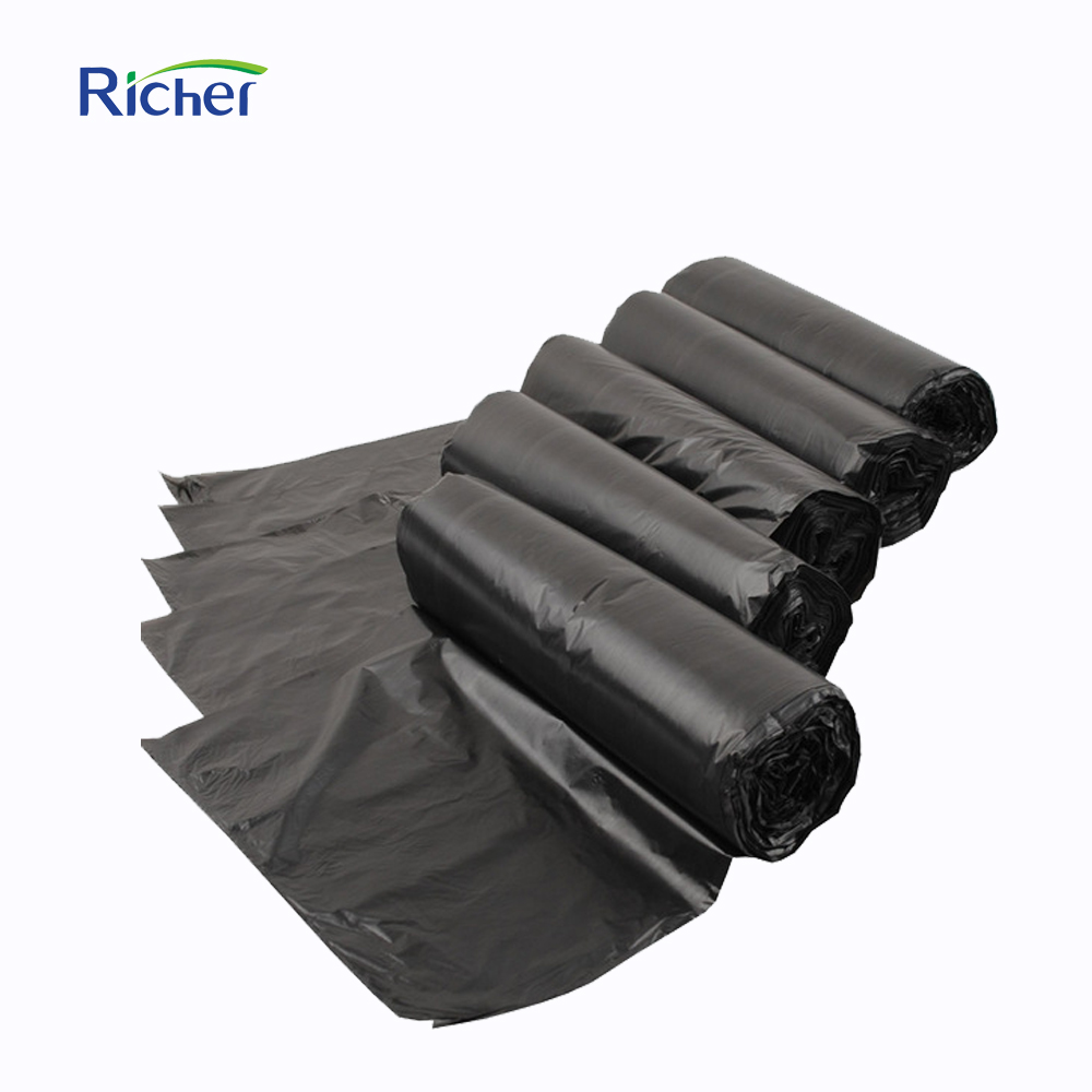 240L 110*125cm recycled big size trash garbage bag