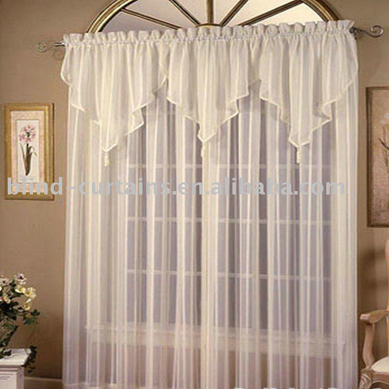 Confeccionadas cortinas de voile cortina identificaci n del producto 369130465 - Cortinas para tragaluz ...