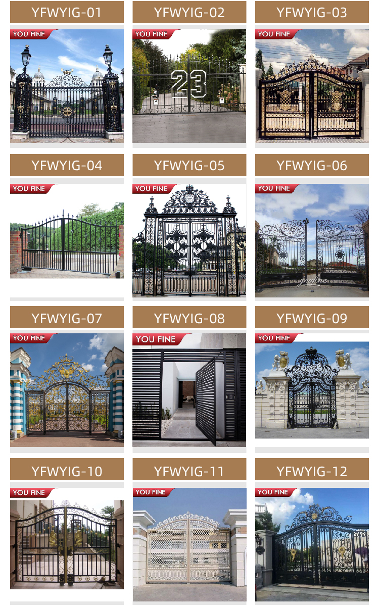 Modern Iron Gate Designs Iron Gate Designs Simple for Sale