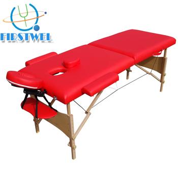 gros pas cher en bois léger portable table de massage - buy